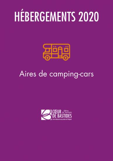 Aires de camping-car 2020
