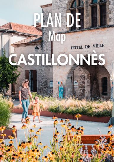 Castillonnès Map