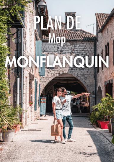 Monflanquin Map