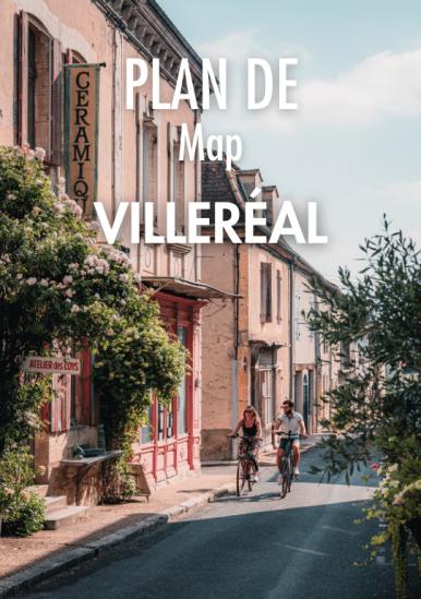 Villeréal Map