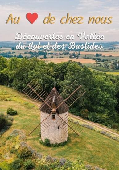 Carte touristique de la Vallée du Lot et des Bastides