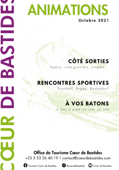 Events in October in Cœur de Bastides
